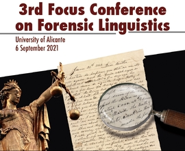 3rd-focus conference on forensic linguistics